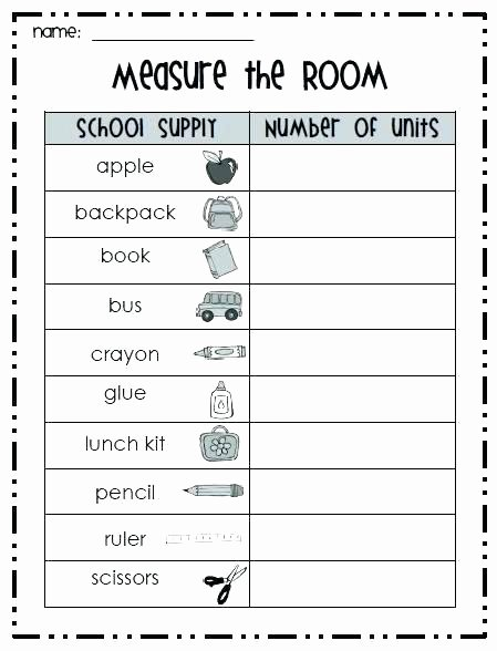 Shurley English Worksheets Luxury 5th Grade Measurement Worksheets Printable Measurement