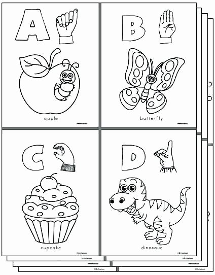 Sign Language Printable Worksheets Alphabet Coloring Pages Az – Lotespolyleis