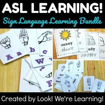 Sign Language Printable Worksheets Alphabet Sign Language Printable & Worksheets