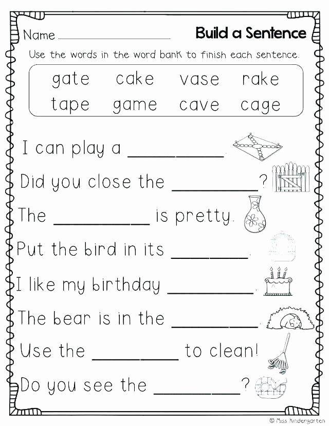 Silent E Worksheets 2nd Grade Beautiful Long U Silent E Worksheets O for All Download and Vowel