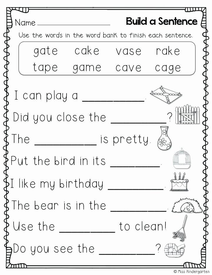 Silent E Worksheets 2nd Grade Unique Silent E Worksheet Magic Worksheets Cvce 2nd Grade