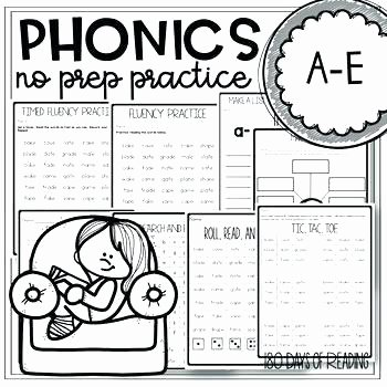 Silent E Worksheets for Kindergarten Bossy Silent E Worksheets for First Grade Free Summer
