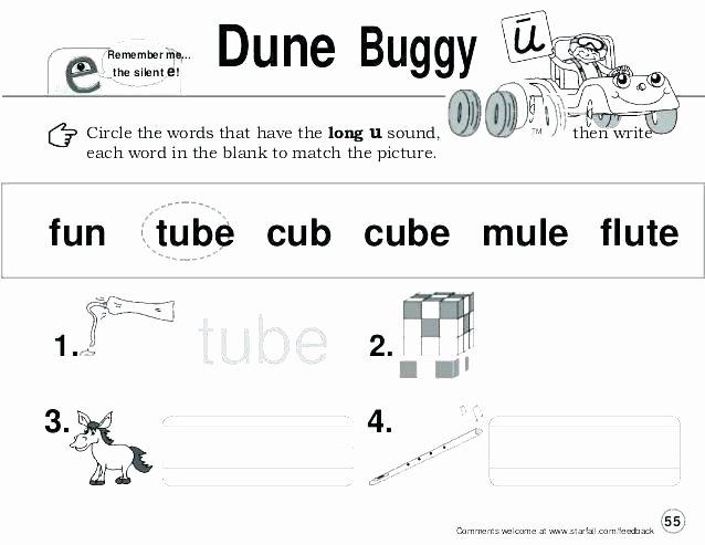 Silent E Worksheets Grade 2 Silent E Worksheets 1st Grade Full Size Long Vowel sounds