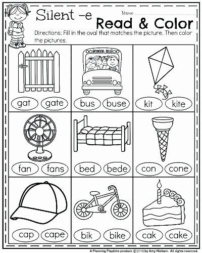 Silent E Worksheets Grade 2 Silent E Worksheets for First Grade – Letseatapp