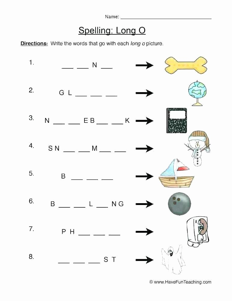 Silent E Worksheets Pdf Long O Silent E Worksheets Phonics U Activities and Free