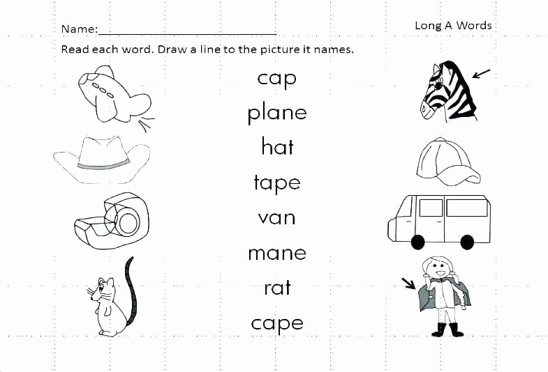 Silent E Worksheets Pdf Magic E Worksheets for First Grade