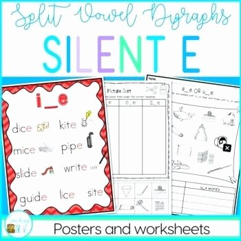 Silent E Worksheets Pdf Silent E Worksheets for Long Vowel and Short Discrimination