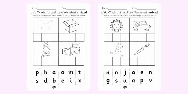 Silent Letters Worksheets Two Letter Words Worksheets Worksheets for Preschool 2 and 3