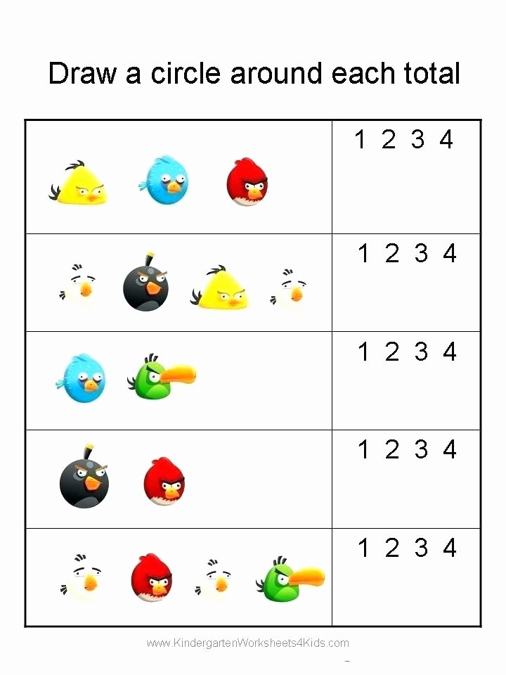 Simple Addition Worksheets with Pictures Addition Worksheets and Preschool Adding Free