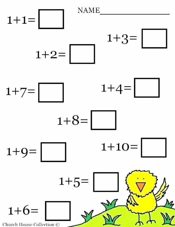 Simple Addition Worksheets with Pictures Math Adding Worksheets