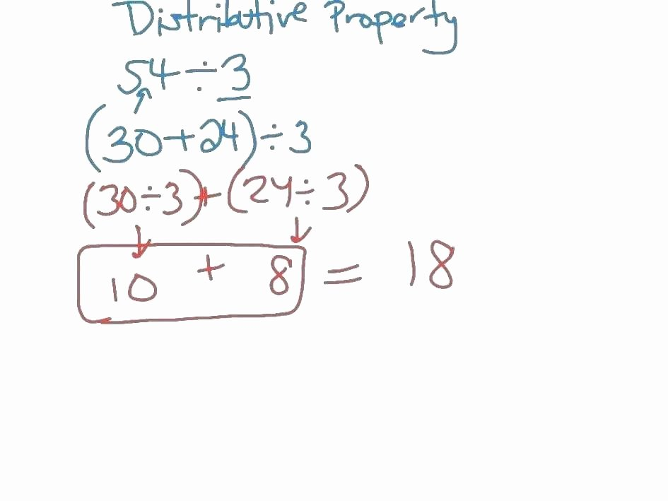 Simple Distributive Property Worksheets solving Equations with Distributive Property Worksheet