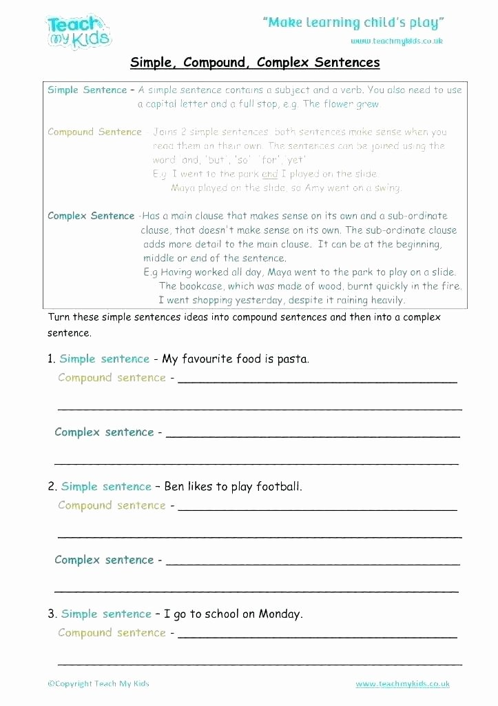 Simple Sentences Worksheet 3rd Grade Pound Words In Sentences Worksheets – Odmartlifestyle