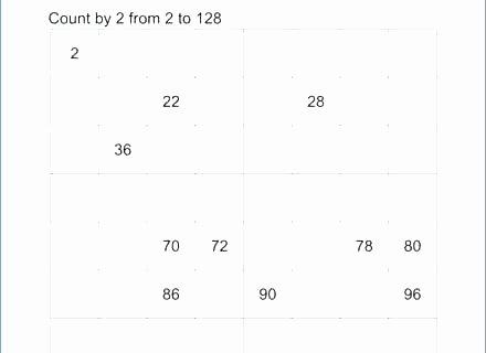 Skip Counting Worksheets 2nd Grade Math Skip Counting Worksheets – Kcctalmavale