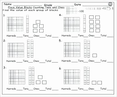Skip Counting Worksheets First Grade Place Value Worksheets 1st Grade