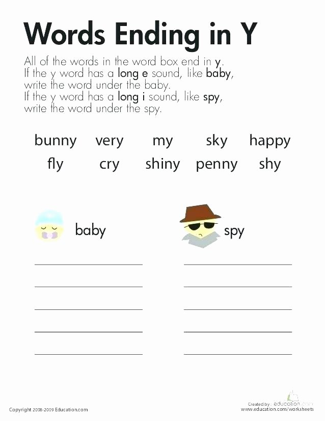 Sneaky E Worksheets Y Phonics Worksheets
