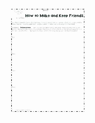 Social Skills Activities Worksheets Free social Skills Worksheets and Worksheet Creator Work