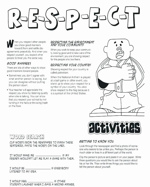 Social Skills Making Friends Worksheets Elegant Healthy Boundaries Healthy Boundaries Worksheet Healthy