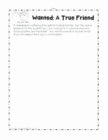 Social Skills Making Friends Worksheets Fresh Making Friends Worksheets