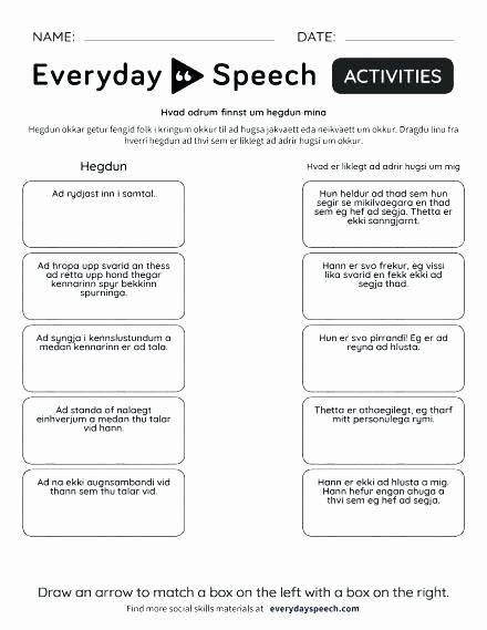 Social Skills Making Friends Worksheets Lovely Appropriate social Behavior Worksheets