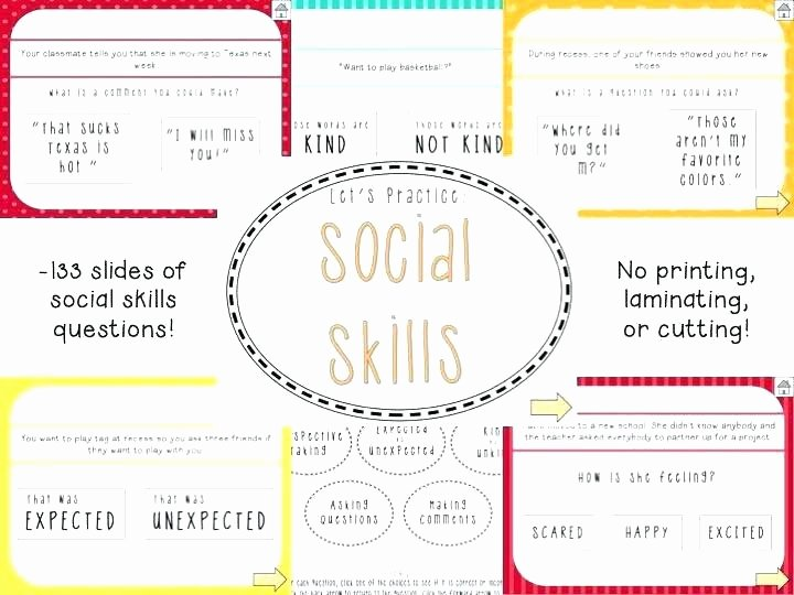 Social Skills Making Friends Worksheets New social Skills Worksheets for Autism Situations Free