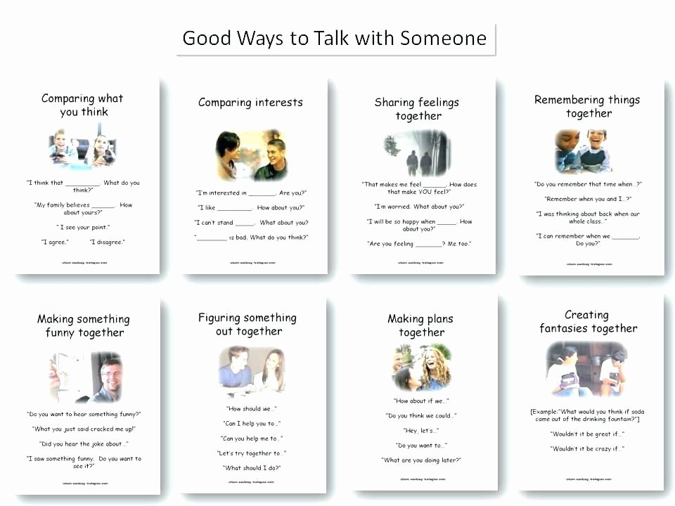 Social Skills Worksheets for Autism social Skills Worksheets for Children