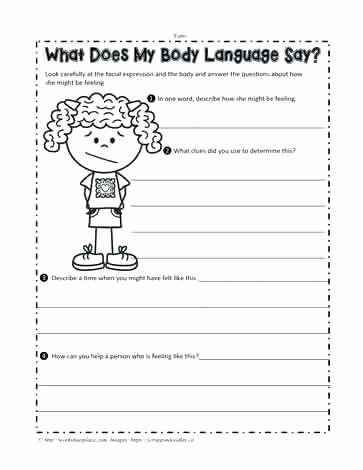 Social Skills Worksheets for Children Free Printable social Stories Worksheets and Best