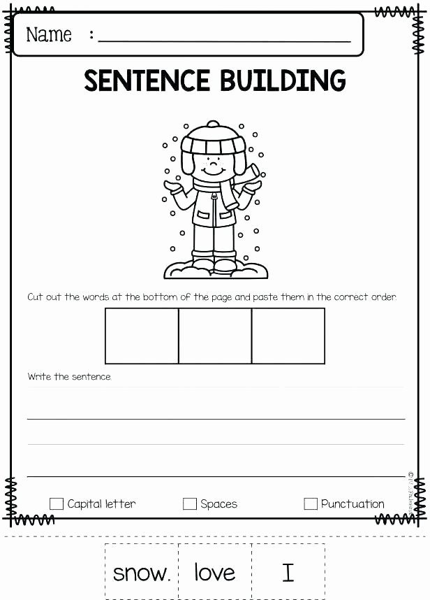 Social Skills Worksheets for Kindergarten social Scenarios Worksheets