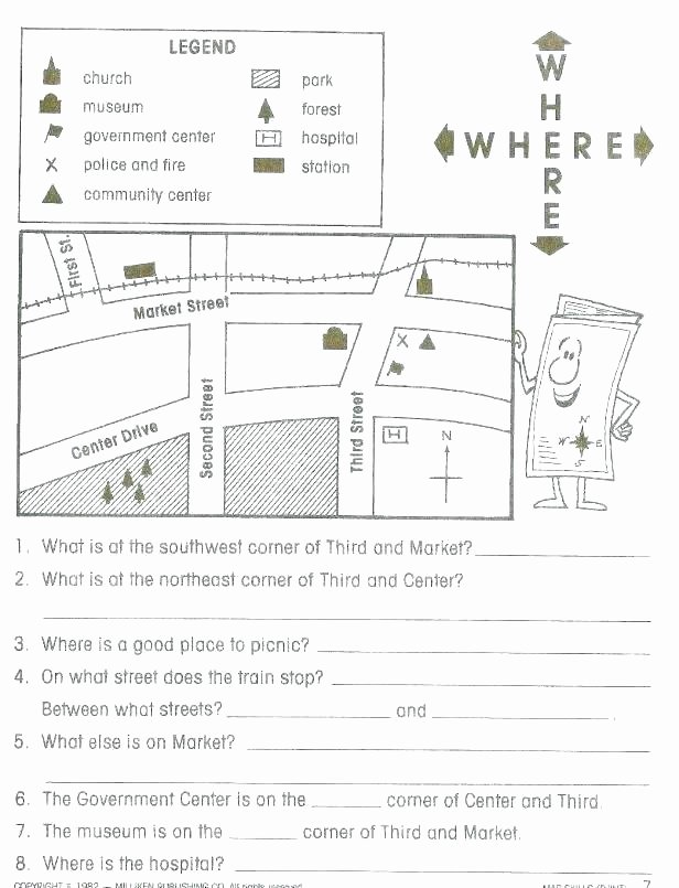 Social Studies Worksheet 1st Grade Beautiful Latitude and Longitude E Worksheets Worksheet 2 Lesson 4th