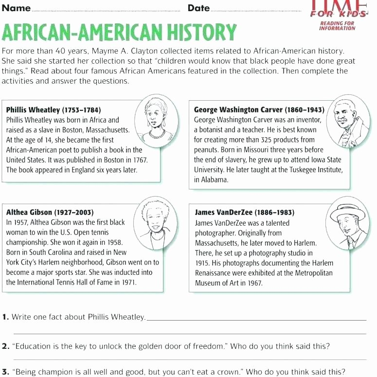 Social Studies Worksheet 1st Grade Inspirational Grade History Worksheets Free Us social Stu S Worksheet