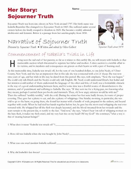 Social Studies Worksheets 6th Grade African American History Month Activities