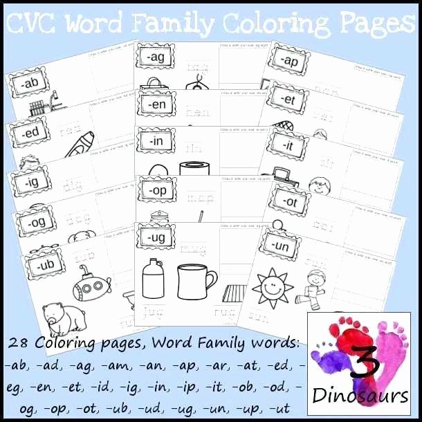 free printable phonics worksheets lovely fresh word family dge worksheet know
