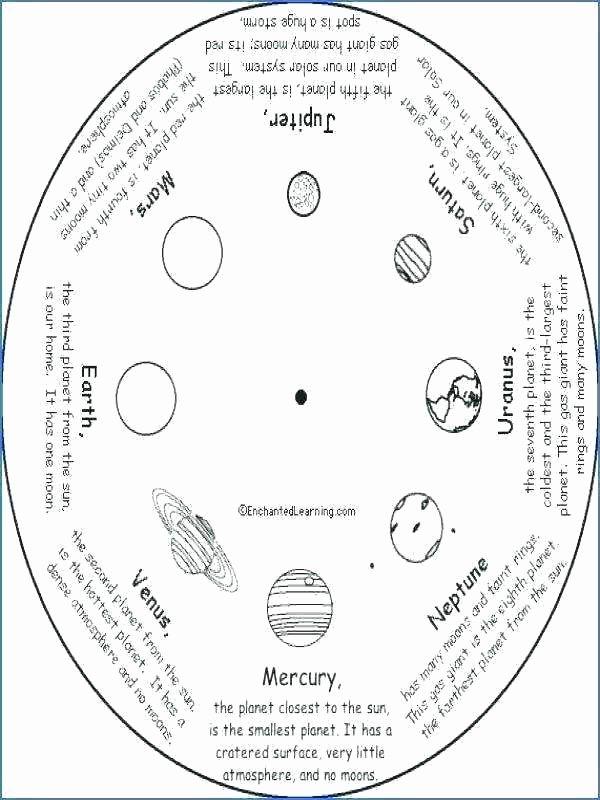 Solar System Worksheets 5th Grade Elegant 6th Grade solar System Worksheets