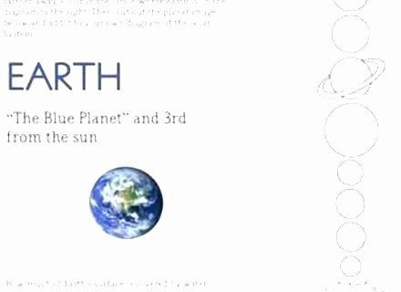 Solar System Worksheets 5th Grade New solar System Worksheets Pdf