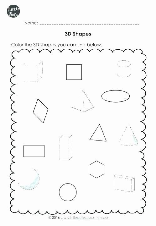 Solid Figures Worksheet attributes Of Shapes Worksheet – Ozerasansor