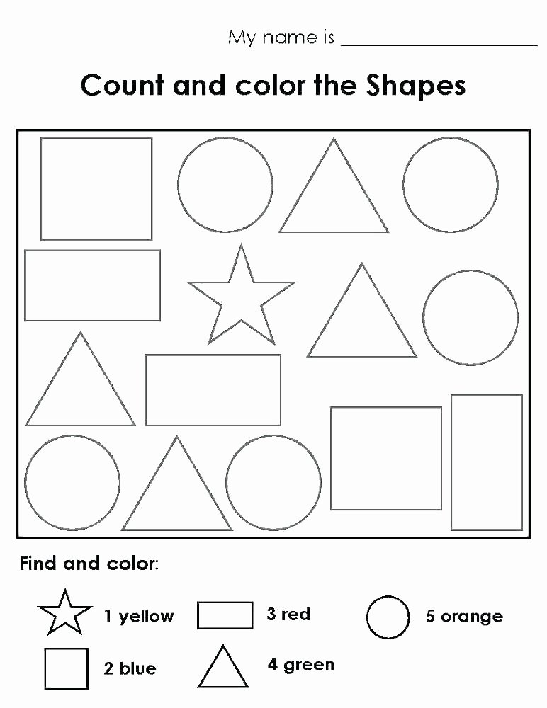 Solid Shapes Worksheets for Kindergarten 3 D Shapes Worksheet Preview sorting Everyday Printable