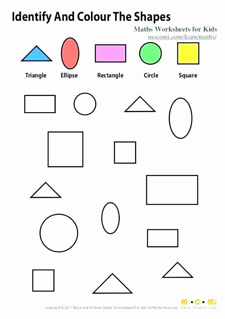 Solid Shapes Worksheets for Kindergarten Shapes Worksheets for Kindergarten