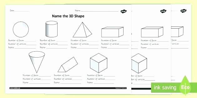 Sorting Shapes Worksheets 3d Shapes Worksheets 2nd Grade First Grade Shapes Worksheet