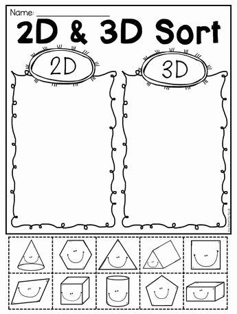 3d shapes kindergarten awesome kindergarten 2d and 3d shapes worksheets of 3d shapes kindergarten