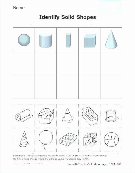 Sorting Shapes Worksheets Best K sorting Classifying for attributes