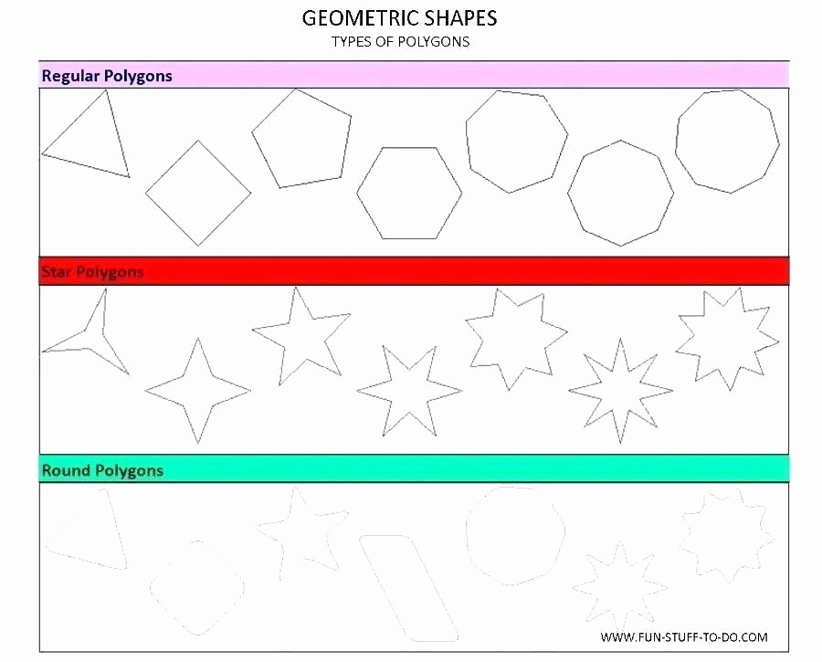 Sorting Shapes Worksheets First Grade Activities for Describing Shapes In Kindergarten Three