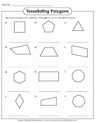 Sorting Shapes Worksheets First Grade Polygon Worksheets 3rd Grade