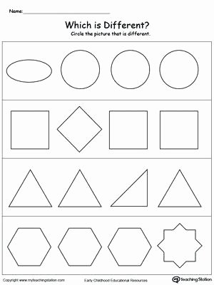 Sorting Shapes Worksheets for Kindergarten Free Heavy and Light sorting Activity Shapes Worksheets