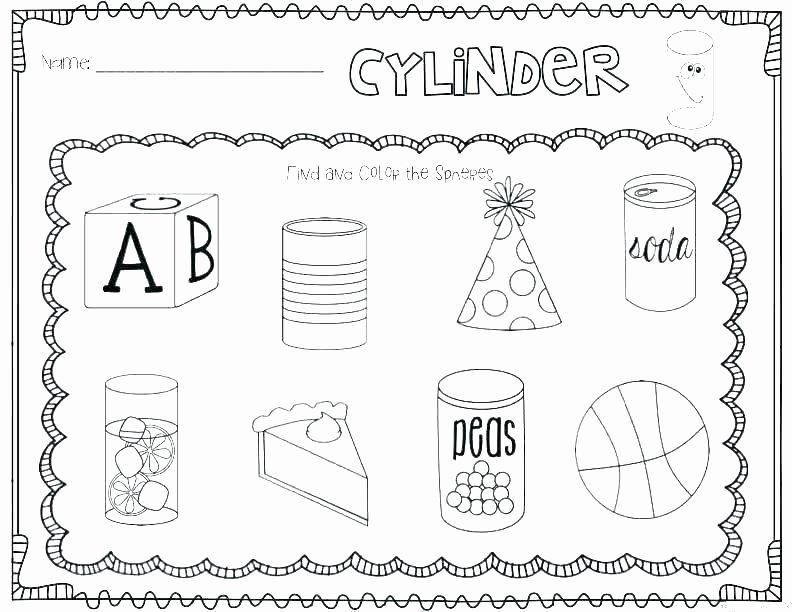 Sorting Shapes Worksheets for Kindergarten Grade Shapes Worksheets and Printable Kindergarten 2 D 3