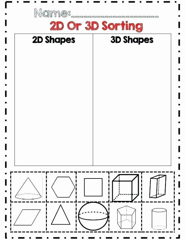 Sorting Shapes Worksheets for Kindergarten Math Worksheet for Kindergarten Shapes – Akasharyans