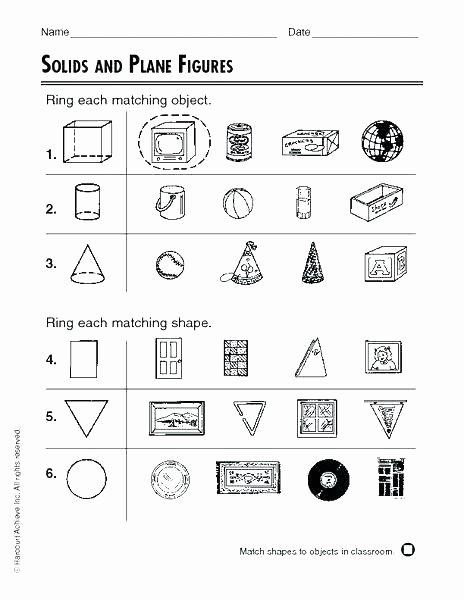 Sorting Shapes Worksheets for Kindergarten Shapes Worksheets for Kindergarten Coloring Geometric Shapes