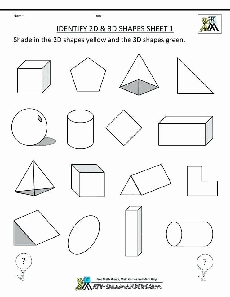 Sorting Shapes Worksheets Maths 3d Shapes Worksheets – Petpage