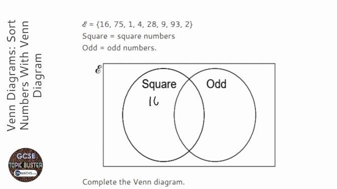 Sorting Shapes Worksheets Venn Diagrams sort Numbers with Diagram Grade 4 Maths