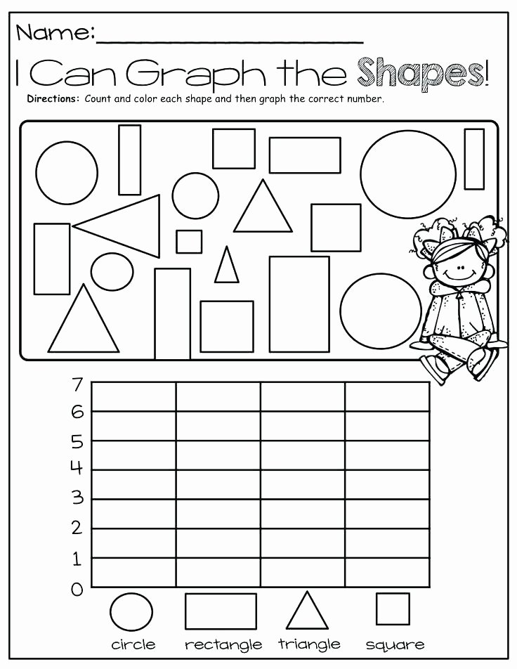 Sorting Worksheets for First Grade 1st Grade Geometry Worksheets