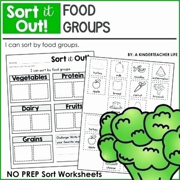 Sorting Worksheets for First Grade Food Group Worksheets Teaching Resources Teachers Pay Groups