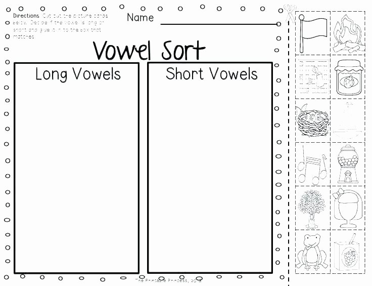 Sorting Worksheets for First Grade Oa Ow Worksheets 2nd Grade Worksheet Kindergarten Second